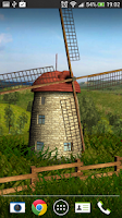 Screenshot of Beautiful Windmill LWP free