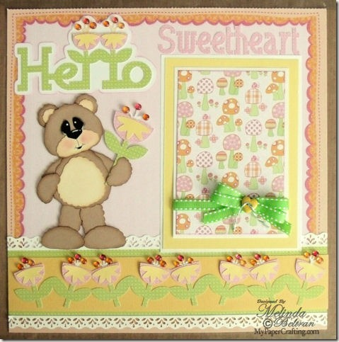dcwv baby girl stack layout hello sunshine 475