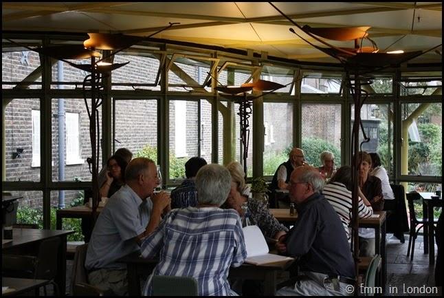 Geffrye Museum - cafe