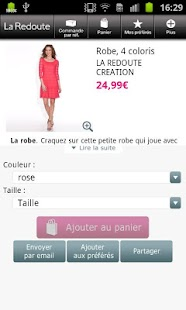 Screenshots  La Redoute FR - Shopping