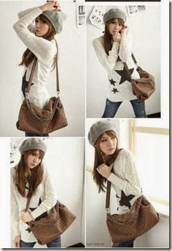 ID 4603 Brown (183.000) - PU Leather, 43 x 33 x 12-