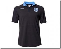 Inglaterra segunda equipación