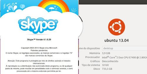 Skype su Ubuntu 13.04