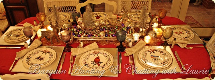 TABLE CHRISTMAS BIRDS