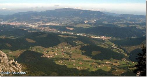 Vistas desde el Anboto - Bizkaia