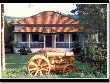 Terreno ocupado pelo CPCA em Indaiatuba era uma antiga fazenda de café cujo casarão foi mantido