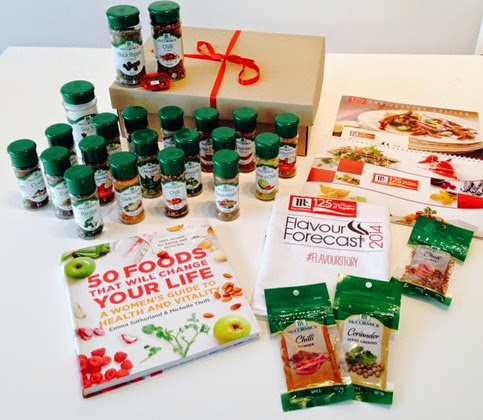 McCormick Cookbook Prize Pack