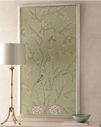 This gorgeous piece of art will add a whimsical lightness to your living room. (horchow.com)
