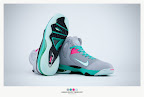 nike lebron 9 ps elite grey candy pink 9 36 sneakerbox LeBron 9 P.S. Elite Miami Vice Official Images & Release Date