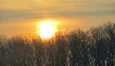 Sonnenaufgang am 21. März 2014