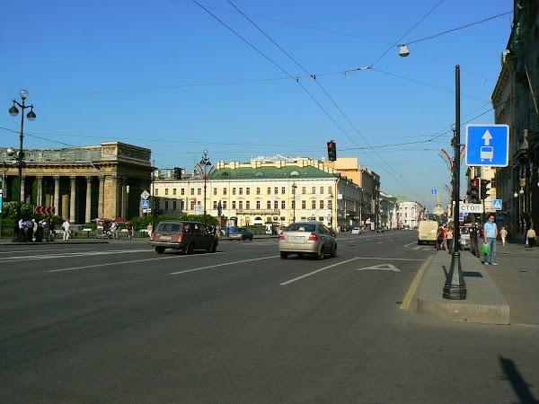 Imagini Rusia: Nevsky Prospect, Sankt Petersburg