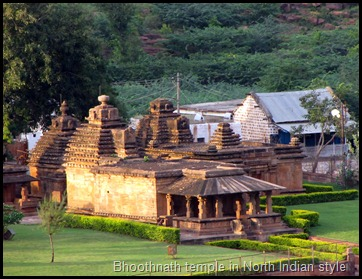 Bhoothnath temple in North Indian style