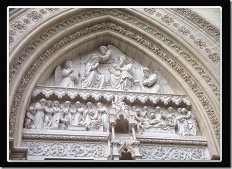 Así es la vida, gozo, dolor y gloria. Catedral de Montpellier. LCL