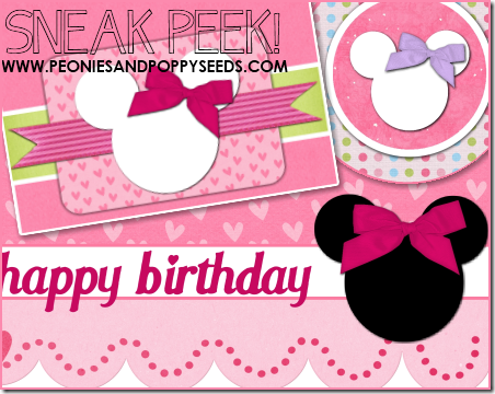 sneak peek minnie mouse party