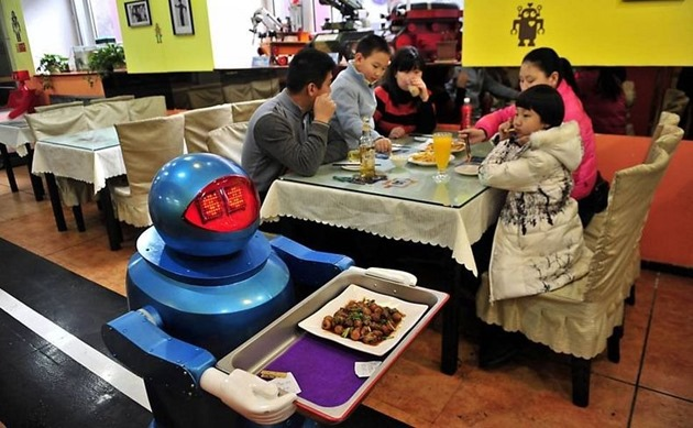 china robot restaurant