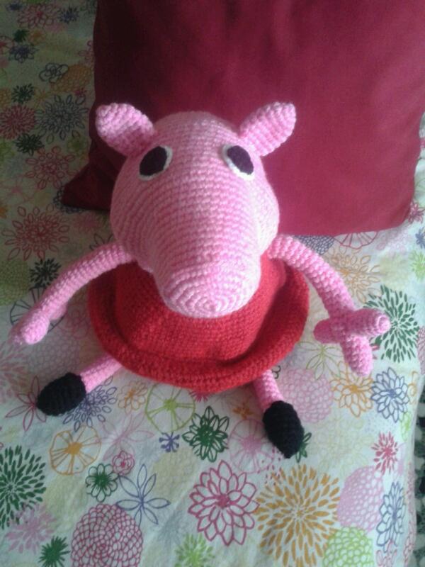 Peppa Pig Amigurumi Taller De Mao : Cabeza De Peppa Pig Amigurumi apexwallpapers.com