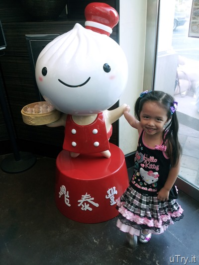 Baby Girl at Din Tai Fung