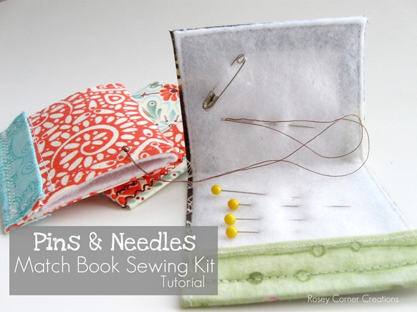 Matchbook sewing kit tutorial 1