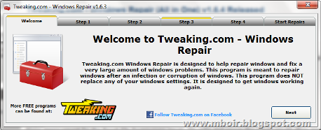 Tweaking Repair