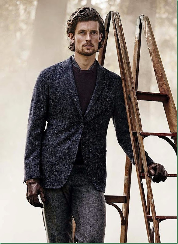 Wouter Peelen fronts Trands Fall/Winter 2014.15 Campaign