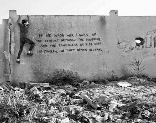Bansky Gazze'de