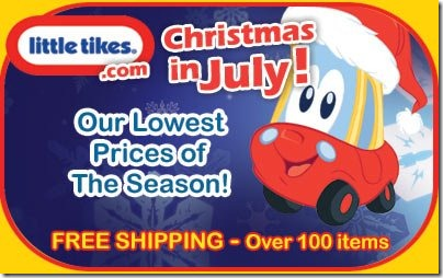 Little Tikes-Christmas in July