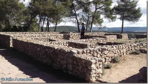 La Bastida de les Alcusses - Barrio de casas en la zona central - Moixent - Valencia