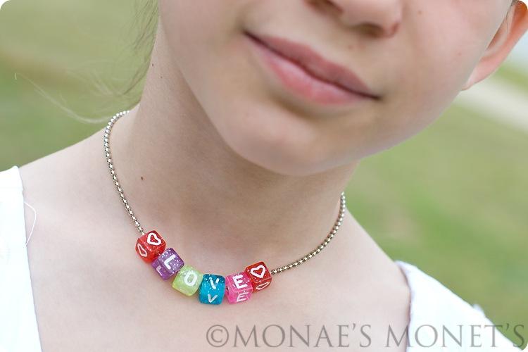 Brooke love necklace blog