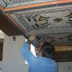 Archiv - Református templom kazettás mennyezetének restaurálása