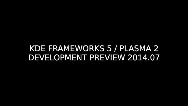 KDE Frameworks 5 e Plasma 5 RC