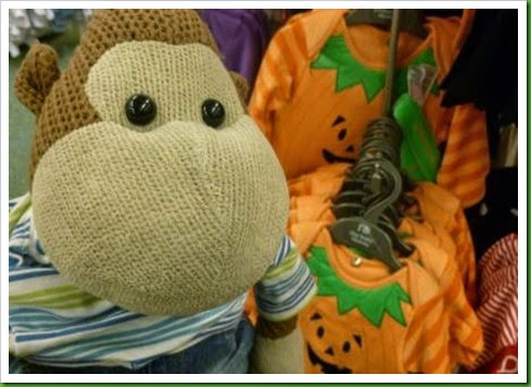 Mothercare Pumpkin outfit