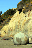"""The Globe"" at Moeraki Boulders - Enroute to Christchurch, New Zealand"