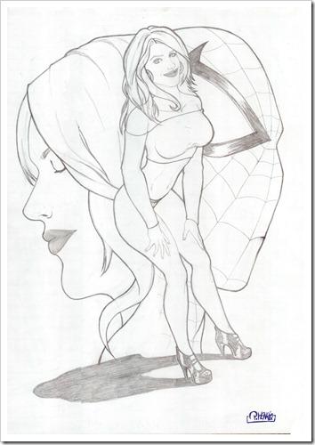 MaryJaneSpiderSensual by P.Henrique