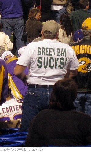'Vikings VS Packers' photo (c) 2006, Laura - license: http://creativecommons.org/licenses/by/2.0/