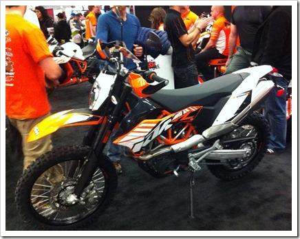 KTM 690 Enduro R 2013 Salon Moto Montreal
