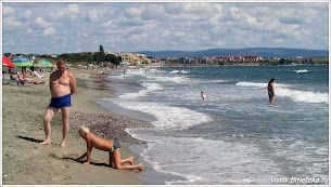 Дикий пляж. Вид в сторону Ахелоя. www.timeteka.ru