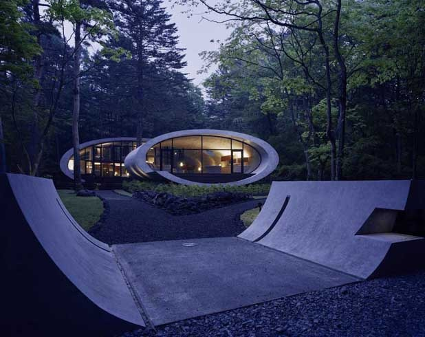shell house by artechnic architects 5