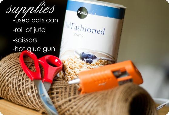 supplies for jute vasae
