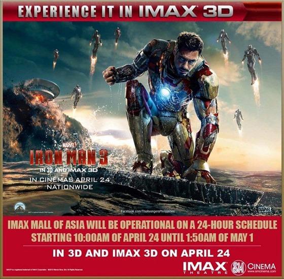 Iron Man 3 24-hr screening