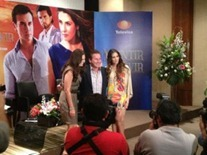 """Ricardo Montaner e India Martínez cantarán """"Déjame soñar"""", tema oficial de la telenovela """"Mentir para vivir""""."""