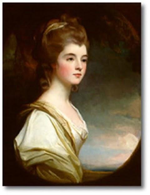Éste es un retrato de lady Elizabeth Leveson-Gower, condesa de Sutherland