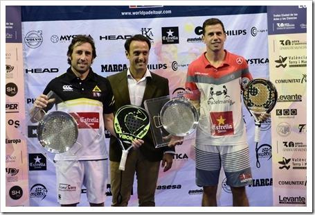 Paquito Navarro y Maxi Grabiel Campeones WPT Estrella Damm Valencia Open 2014.
