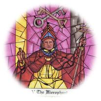 El Papa, Tarot de Cloister