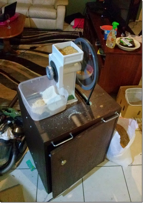 Motorize Country Living Grain Mill