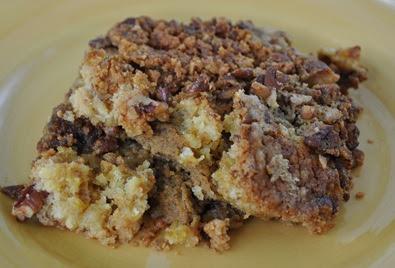 Pumpkin Pie Dump Cake With Yellow Cake Mix