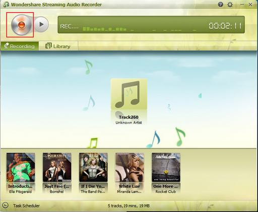 Descargar Wondershare Streaming Audio Recorder gratis