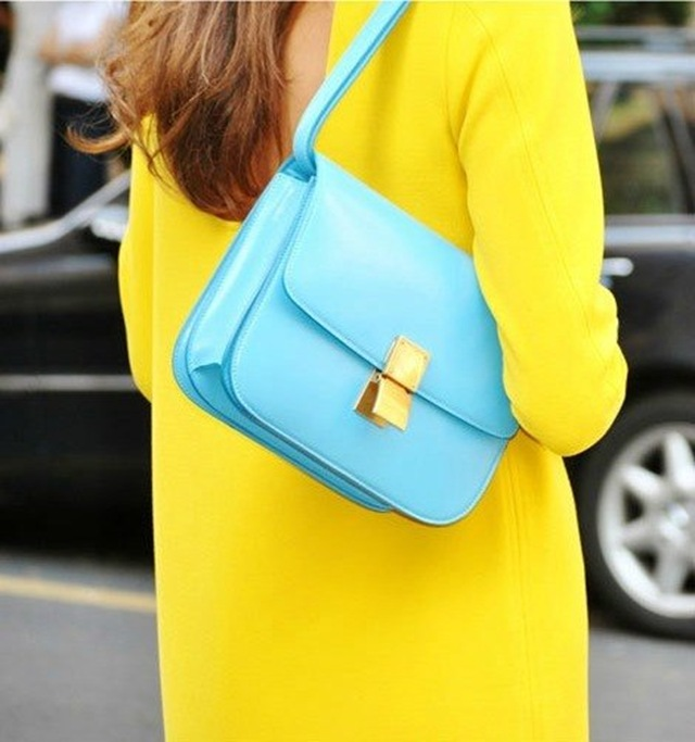 la-modella-mafia-Model-Street-Style-Spring-2012-Neon-Trend-yellow-and-blue-colorblocking