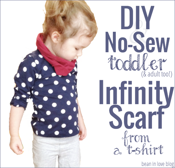 infinity scarf from a tee