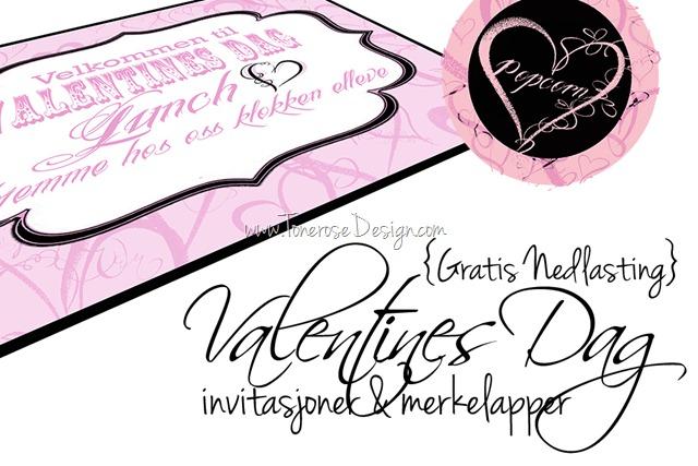 gratis nedlasting valentines dag invitasjoner