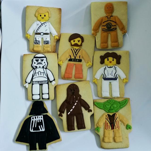 lego starwars cookies